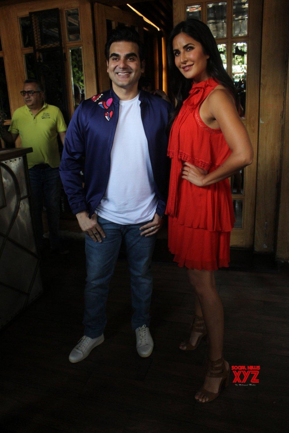 """Mumbai: Katrina Kaif at Arbaaz Khan's talk show """"Pinch ..."""