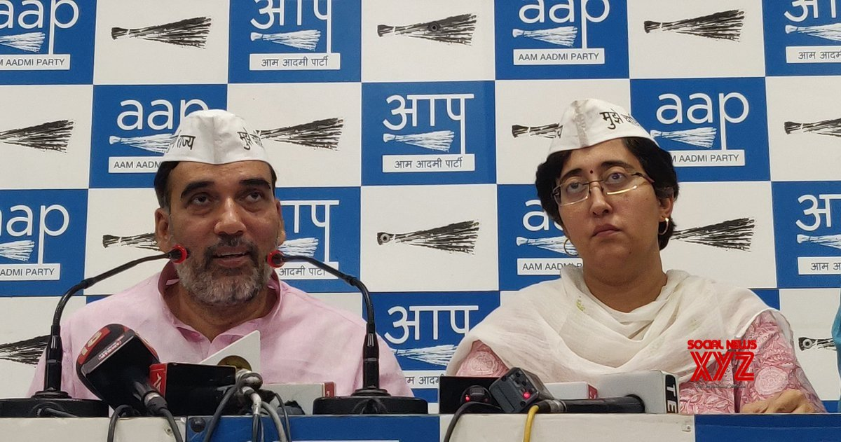 New Delhi: AAP's press conference #Gallery