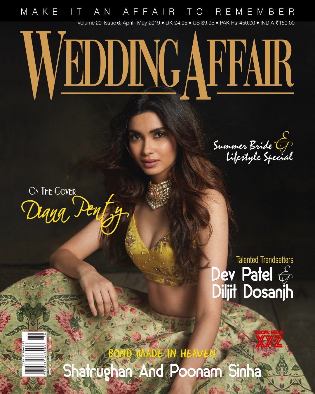 Actress Diana Penty Still From Wedding Affair Magazine Coverpage
