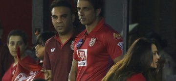 Mohali: Actor Sonu Sood during the 32nd match of IPL 2019 between Kings XI Punjab and Rajasthan Royals at Punjab Cricket Association IS Bindra Stadium in Mohali on April 16, 2019. (Photo: Surjeet Yadav/IANS)