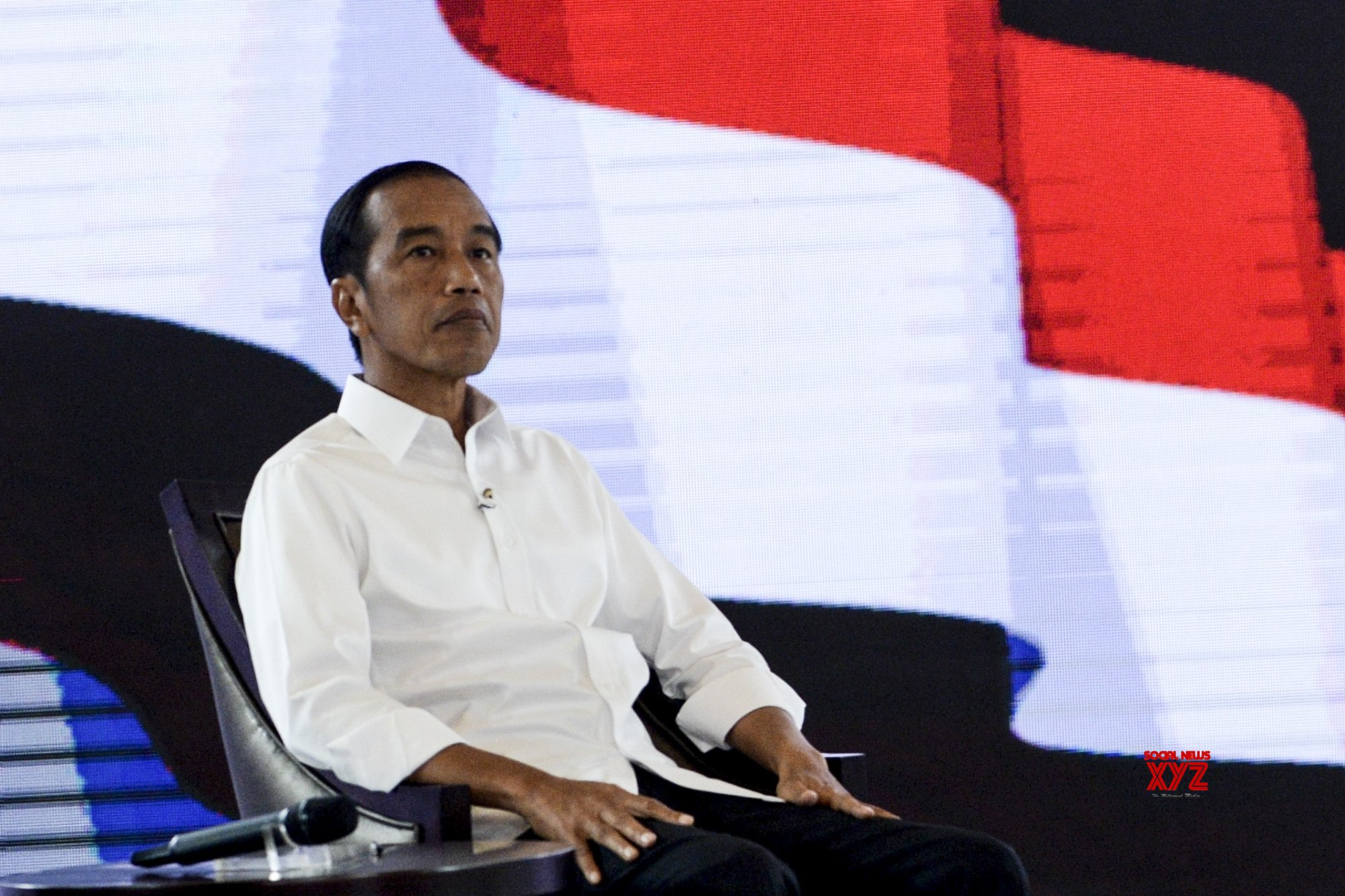 Indonesian President Widodo 'leading poll race'