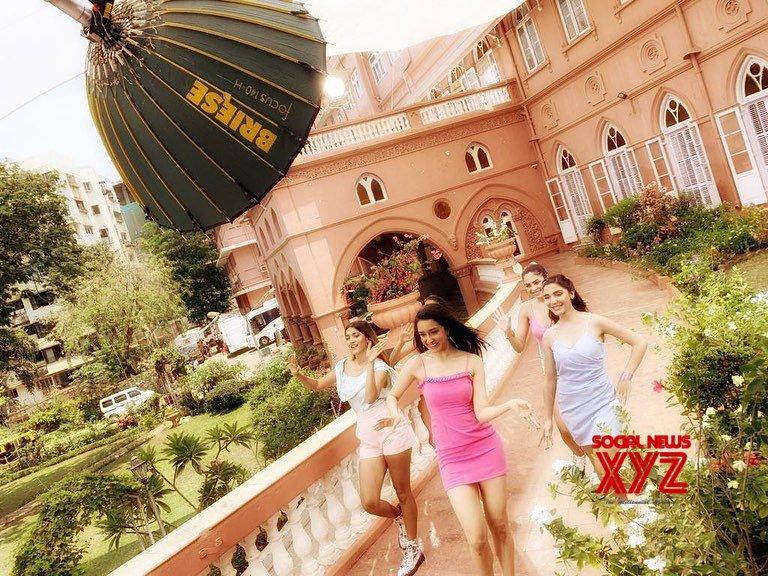 Actress Shraddha Kapoor Stills From Veet India Ad Shoot