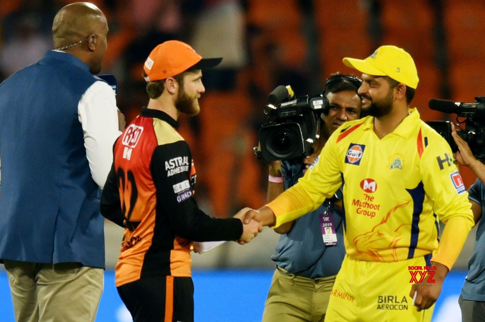 Chennai win toss, opt to bat vs Sunrisers Hyderabad