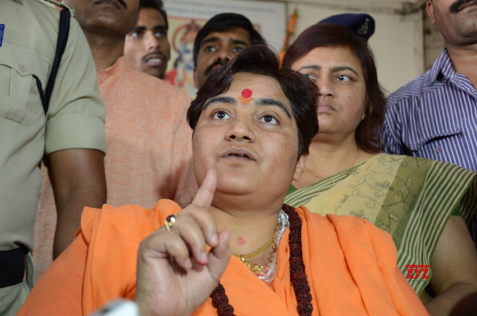 Pragya calls Godse 'deshbhakt', BJP seeks public apology as Congress attacks