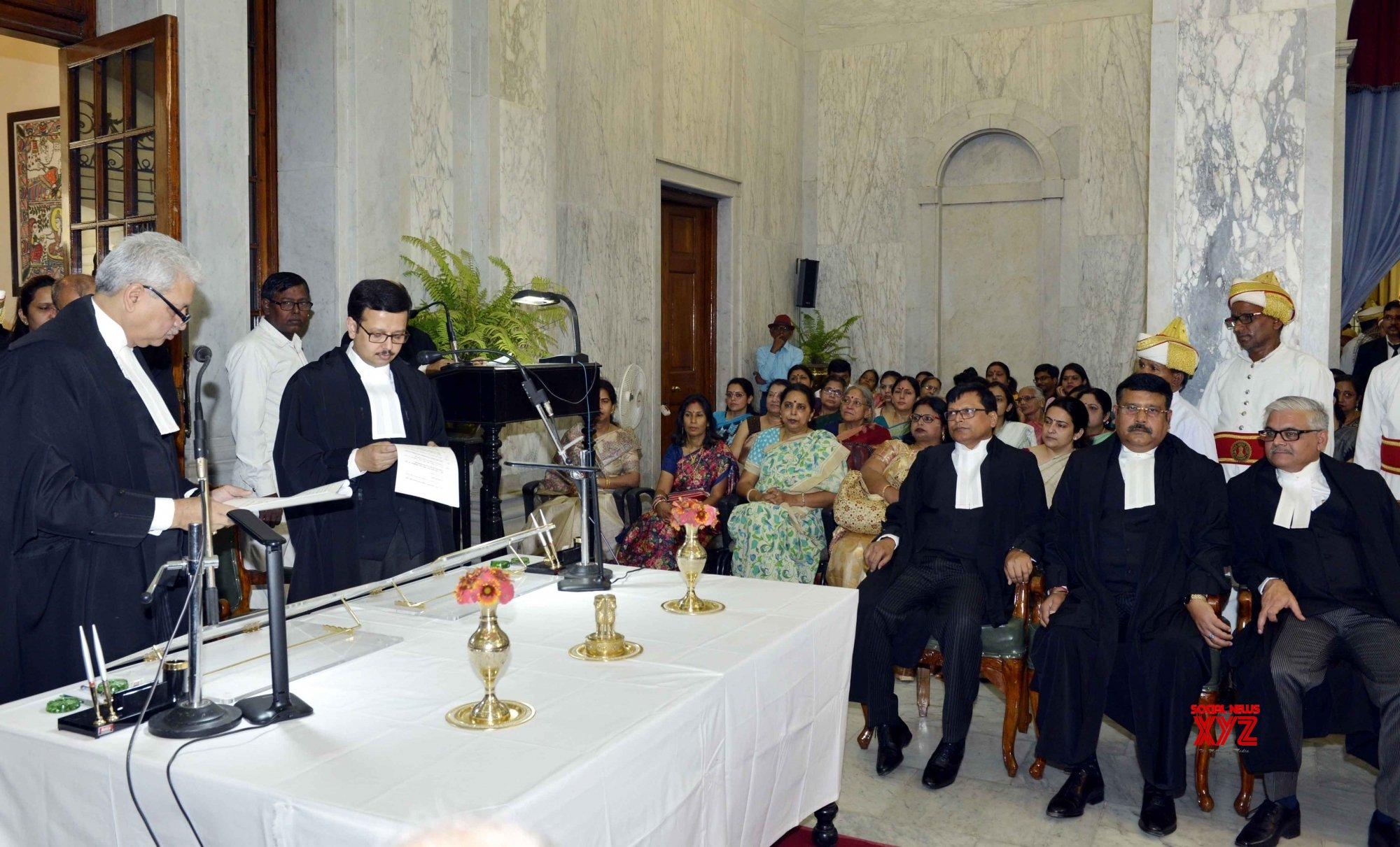 Patna: Four lawyers sworn - in as Patna High Court Judges #Gallery