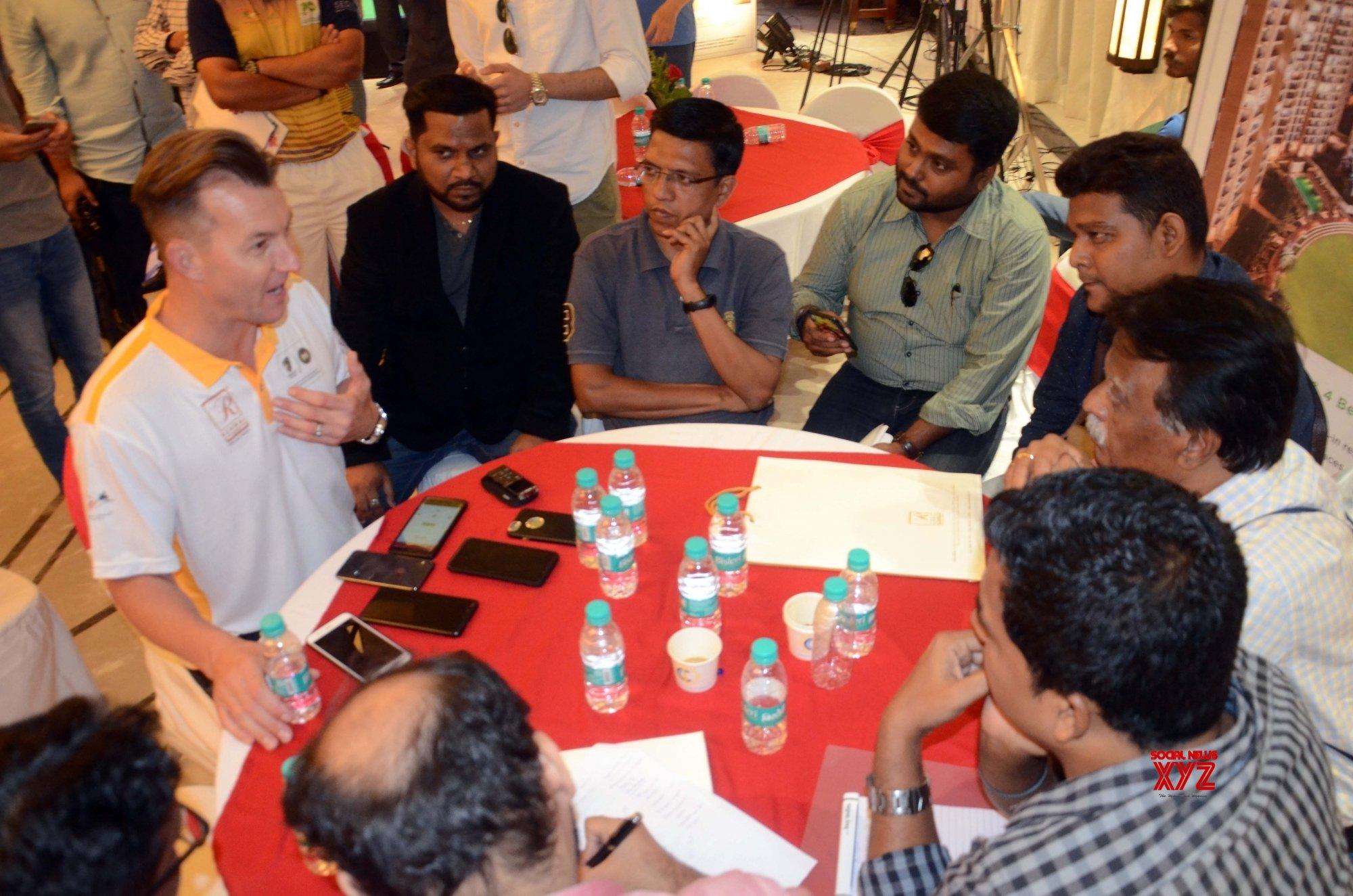Mumbai: Brett Lee during a programme #Gallery