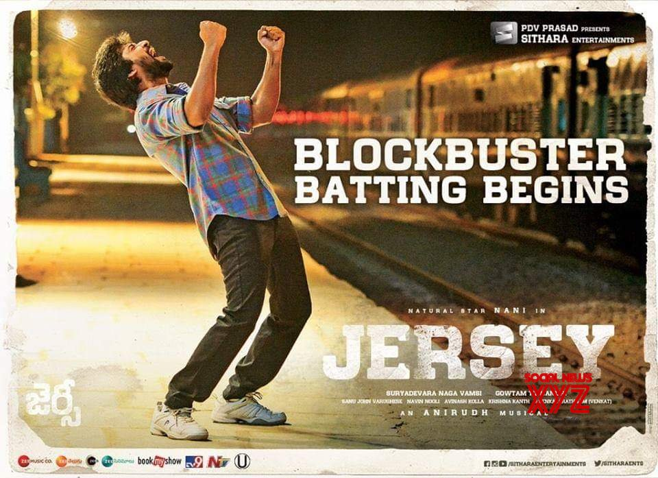 Nani's Jersey Day 1 World Wide Share Is 6.8 Crores