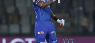 New Delhi: Delhi Capitals' skipper Shreyas Iyer celebrates after winning the 37th match of IPL 2019 against Kings XI Punjab at Feroz Shah Kotla in New Delhi, on April 20, 2019. (Photo: Surjeet Yadav/IANS)
