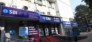 Patna: State Bank of India remains shut during a nationwide strike called by the United Forum of Bank Unions (UFBU) against bank mergers and pay revision, in Patna, on Dec 26, 2018. (Photo: IANS)
