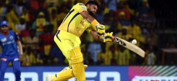 Chennai: Chennai Super Kings' Suresh Raina in action during the 50th IPL match between Chennai Super Kings and Delhi Capitals at MA Chidambaram Stadium in Chennai on May 1, 2019. (Photo: IANS)