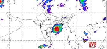 Cyclone Fani. (Photo: IANS/IMD)