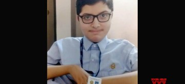Noida: Vinayak Sreedhar, who could not appear for two exams - Computer Science and Social Studies as he passed away in March scored 100 in English, 96 in Science and 97 in Sanskrit He was diagnosed with Duchenne muscular dystrophy (DMD) when he was two years old. (Photo: IANS)