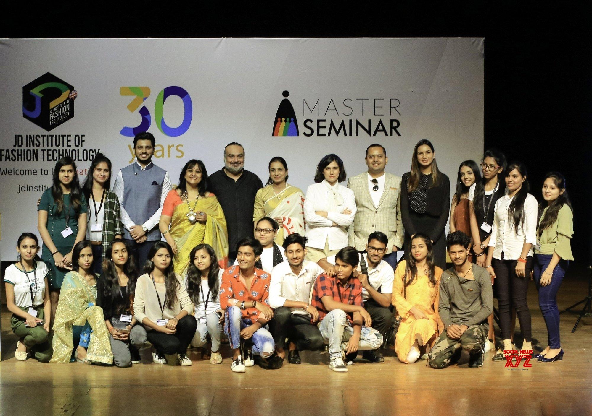 New Delhi Master Seminar At Jd Institute Of Fashion Technology Gallery Social News Xyz