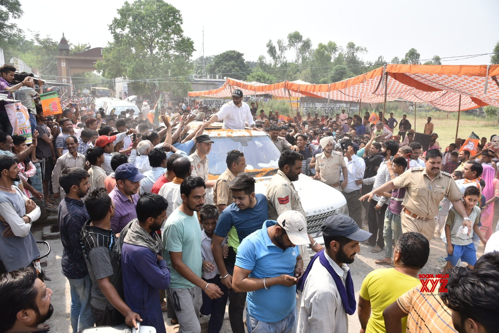 Gurdaspur: Sunny Deol during election campaign #Gallery