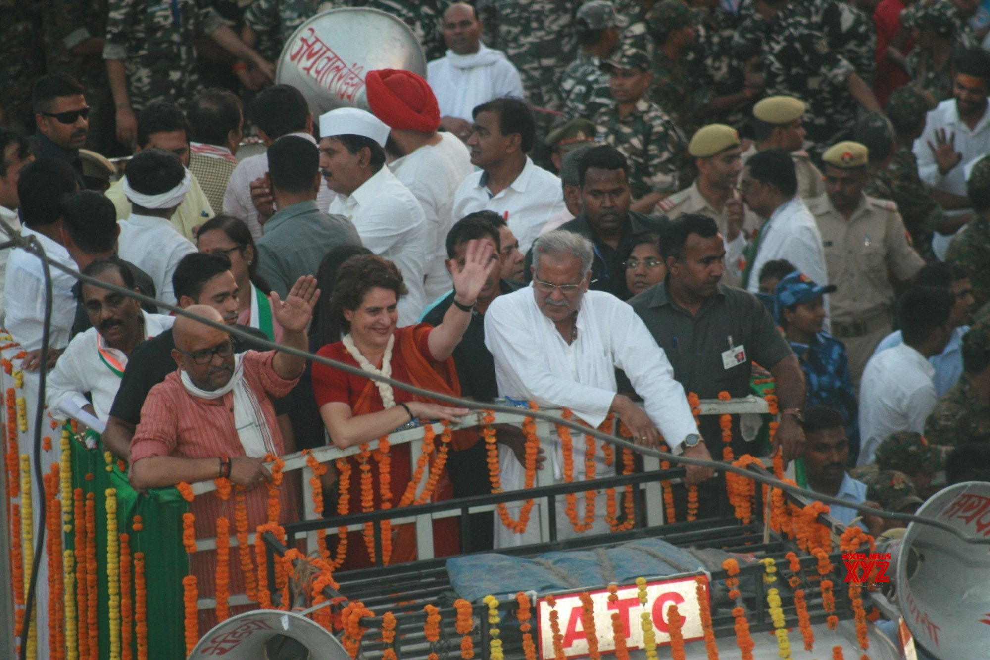 Priyanka steps down from roadshow to save man