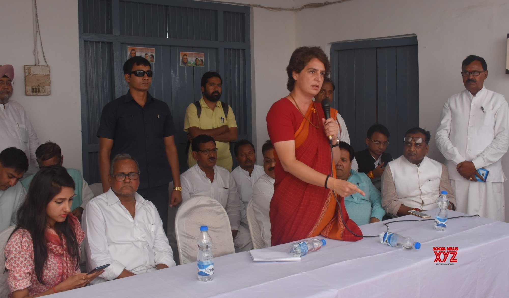 Rae Bareli (UP): Priyanka Gandhi Vadra at Congress meeting #Gallery