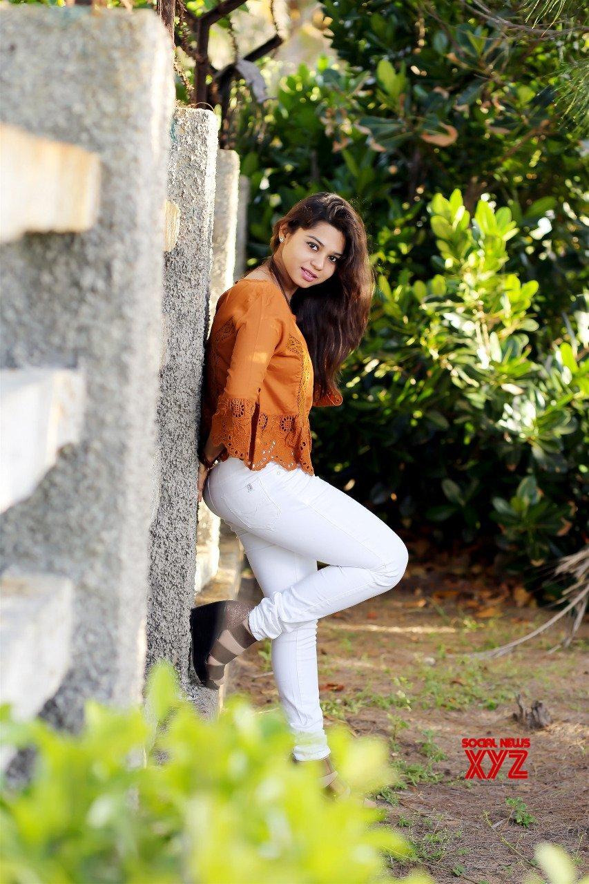 Actress Aishu Latest Stills From Photo Shoot By KiranSa
