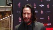 Keanu Reeves Hand and Footprint Ceremony Soundbites || #SocialNews.XYZ  (Video)