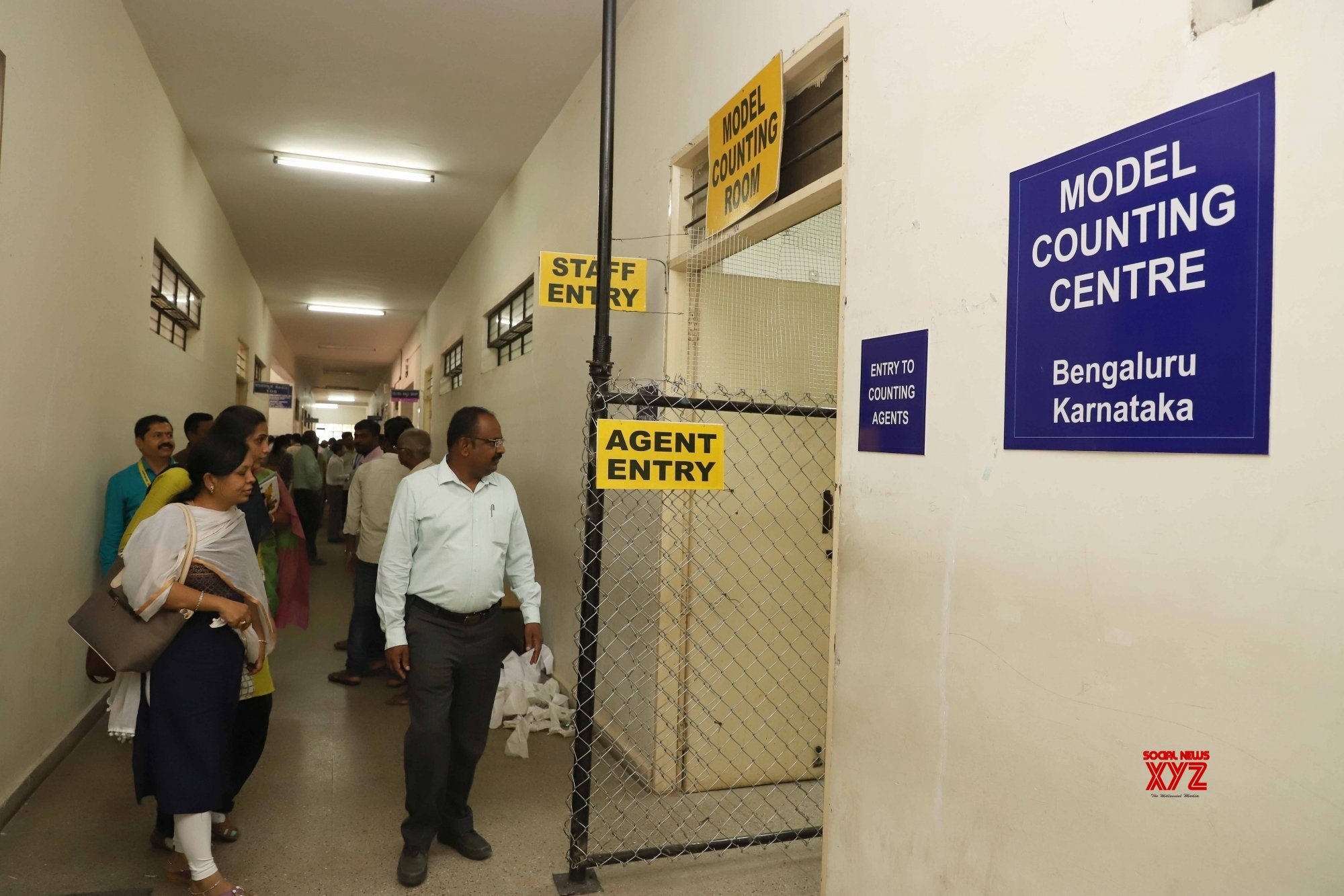 Bengaluru: Model counting centre #Gallery