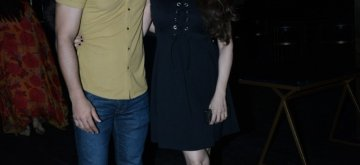 Mumbai: Actress Sangeeta Bijlani at Actor Freddy Daruwala's birthday celebrations at Juhu, Mumbai. (Photo: IANS)
