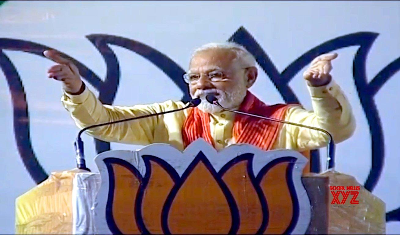 Dum Dum (West Bengal): Modi's rally #Gallery