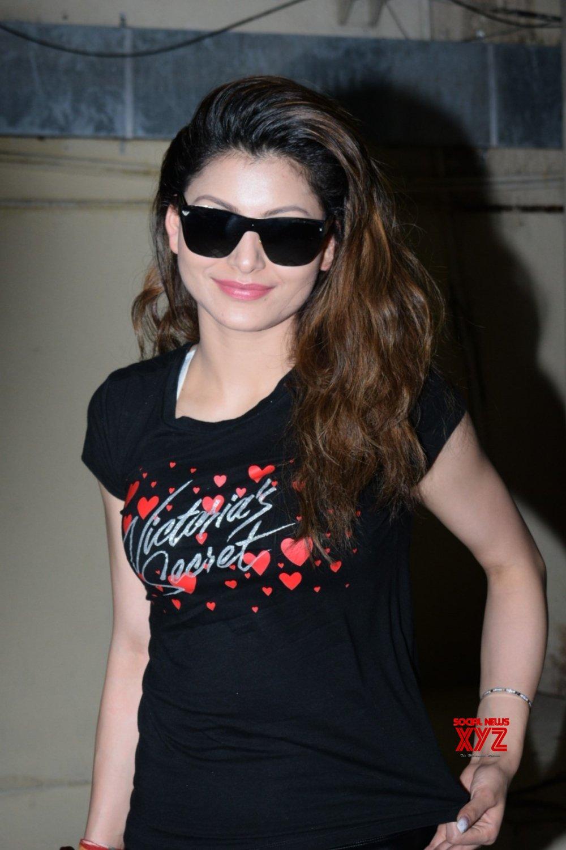 Mumbai: Urvashi Rautela seen at Juhu cinema hall #Gallery