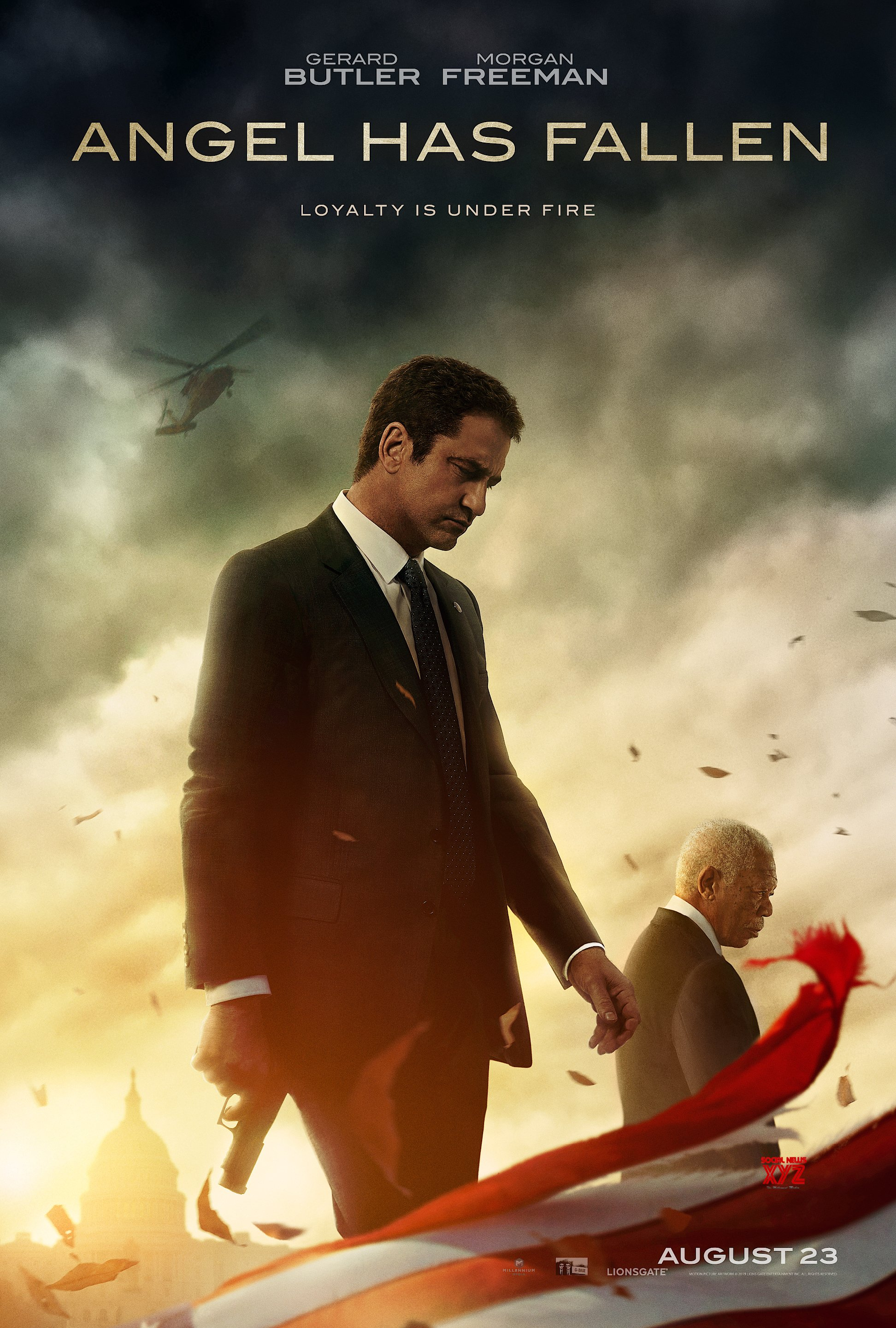 Angel Has Fallen Movie HD Posters And Stills