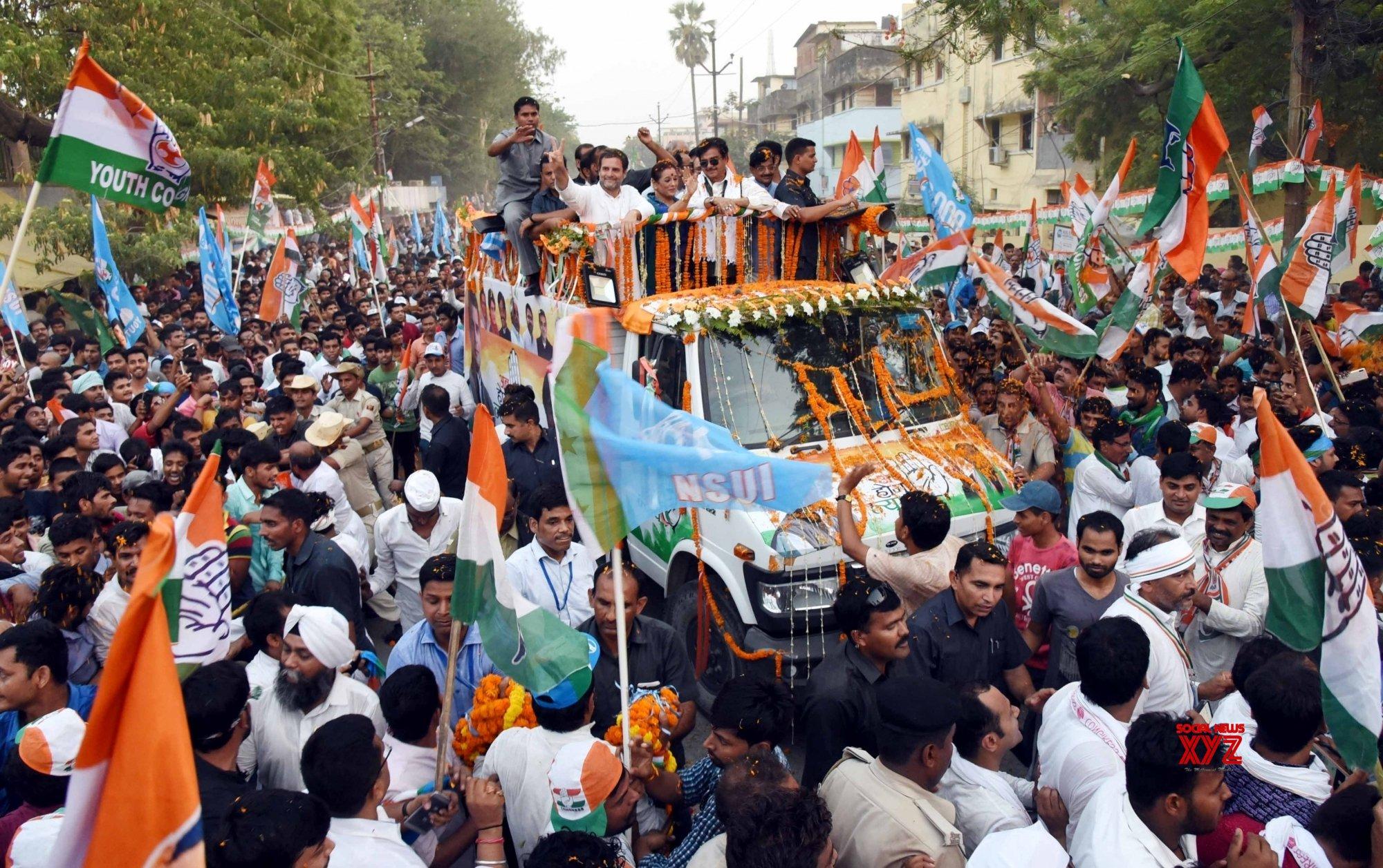 Patna: Rahul Gandhi's roadshow (Batch - 2) #Gallery