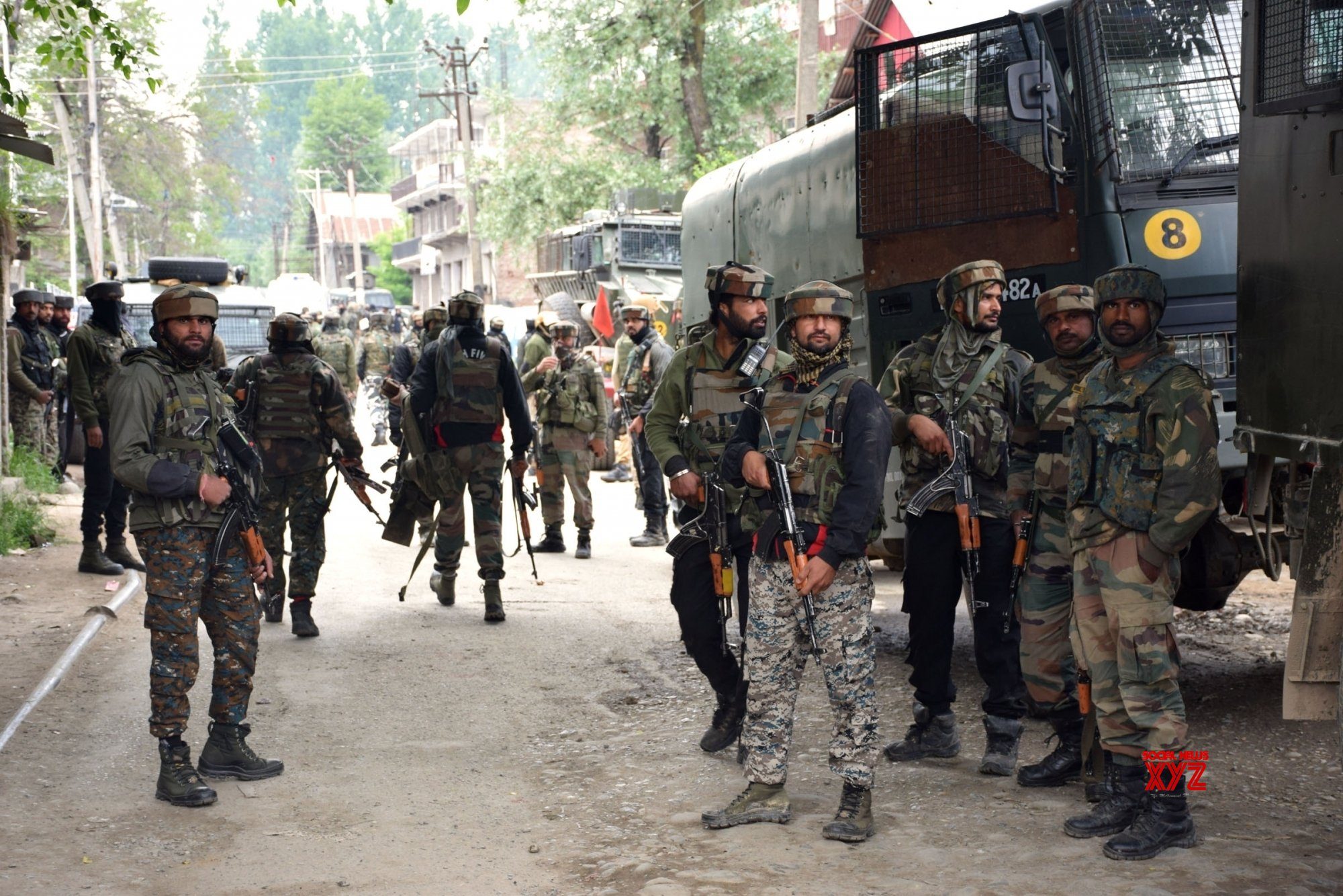 Pulwama: Top JeM commander among 5 killed in J&K gunfight #Gallery