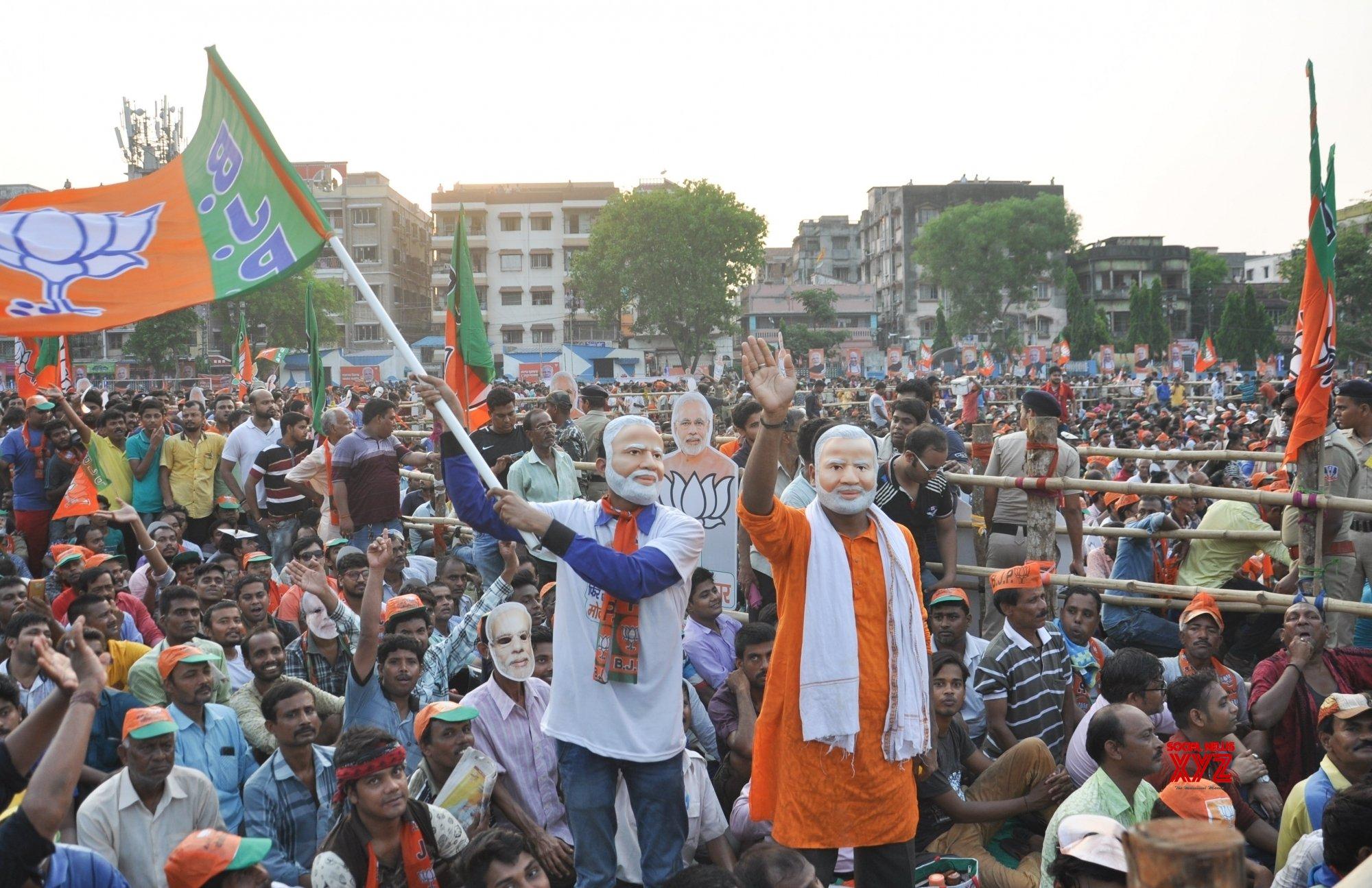 Dum Dum (West Bengal): Modi's rally (Batch - 2) #Gallery