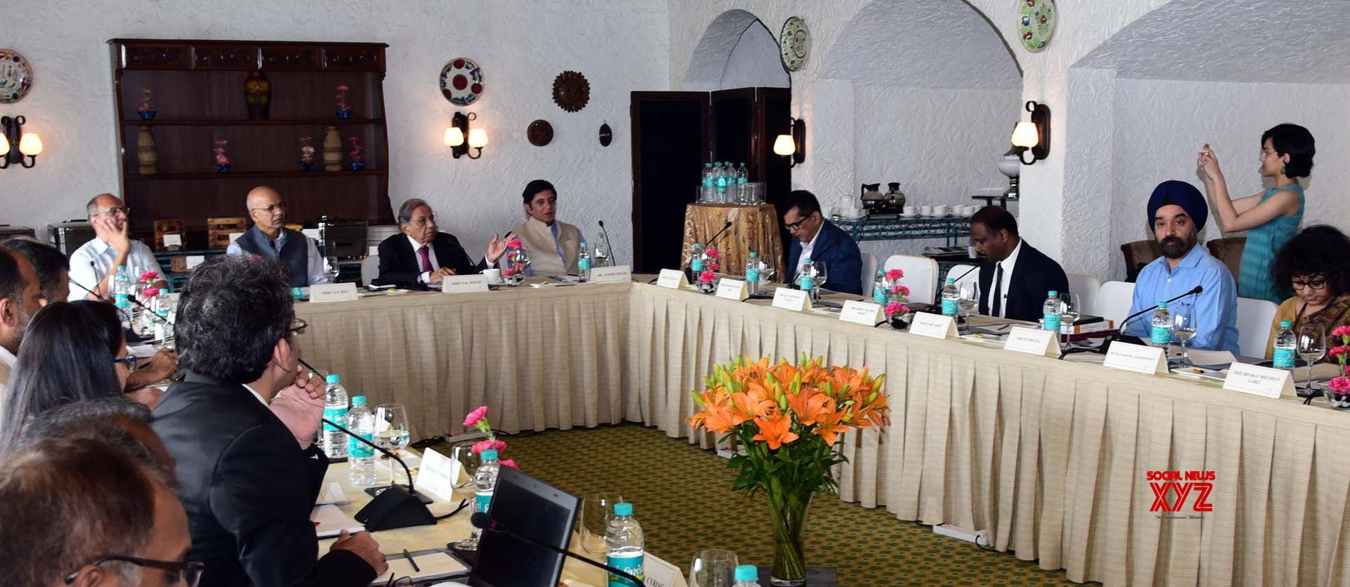New Delhi: 15th Finance Commission: 3rd Advisory Council meeting #Gallery