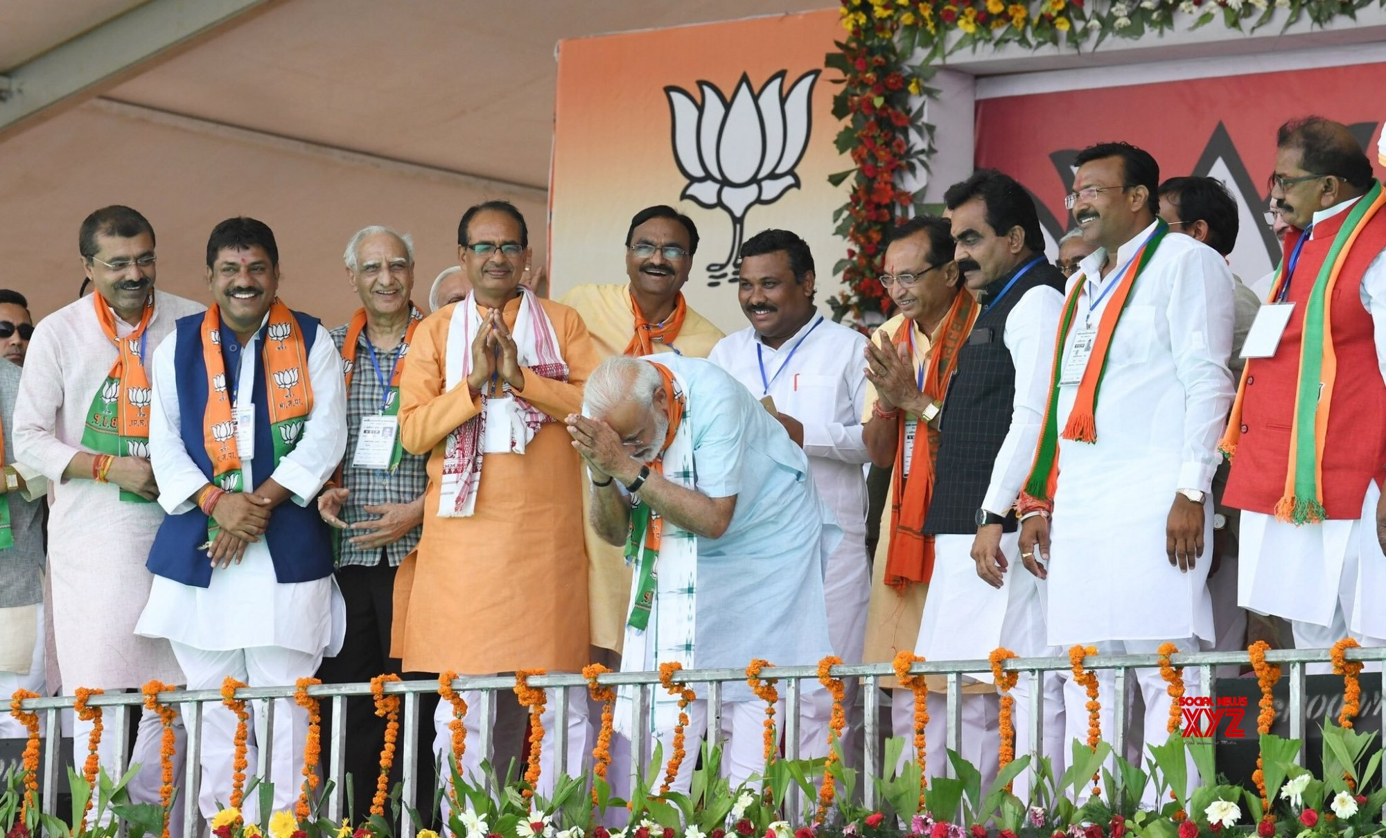 Khargone: PM Modi at BJP rally in Madhya Pradesh (Batch - 2) #Gallery