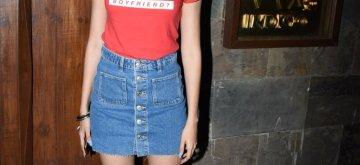 Mumbai: Actress Ananya Panday seen in Mumbai's Bandra, on May 16, 2019. (Photo: IANS)