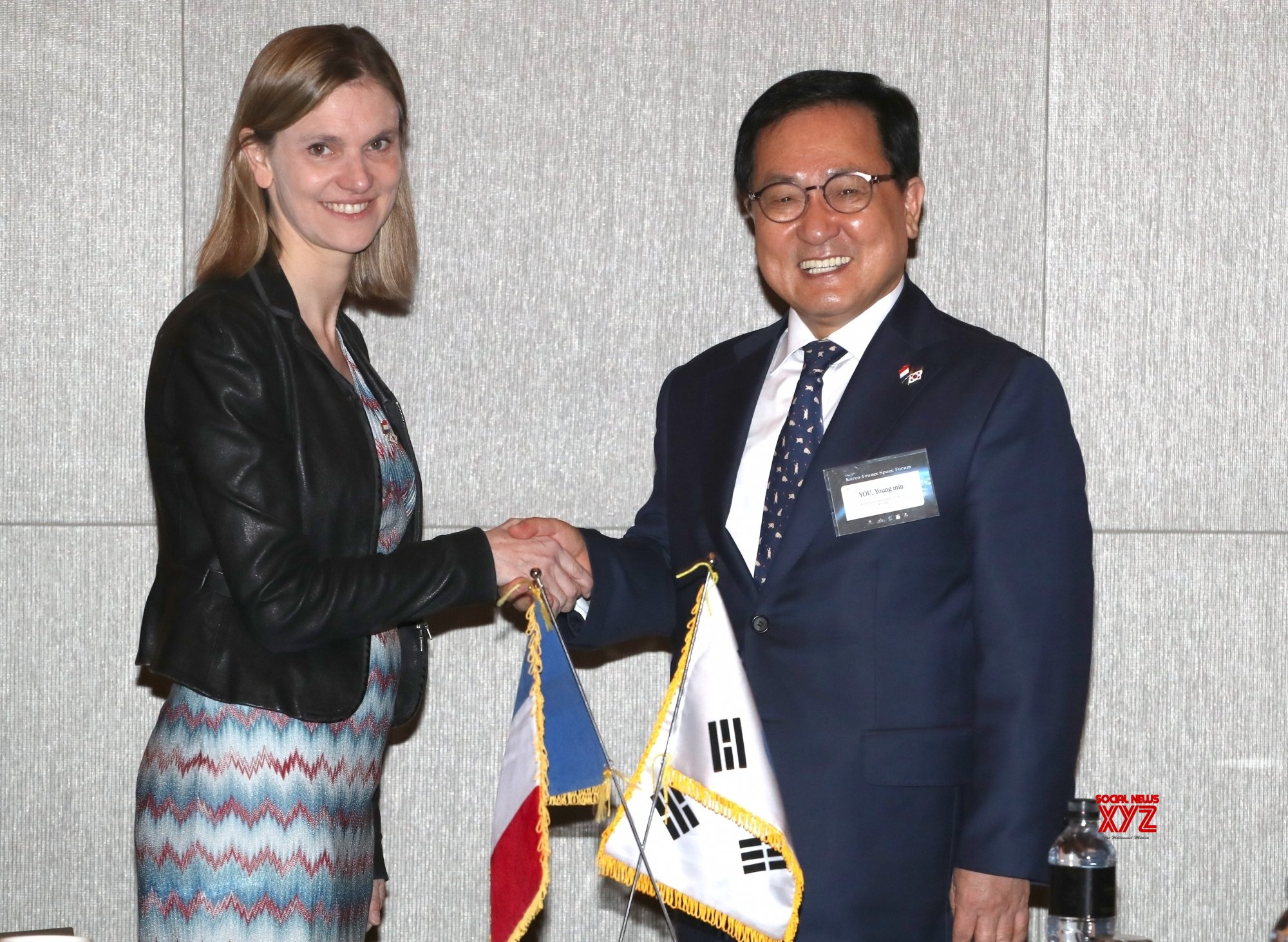 Seoul: S. Korea, France agree to expand cooperation for space development #Gallery