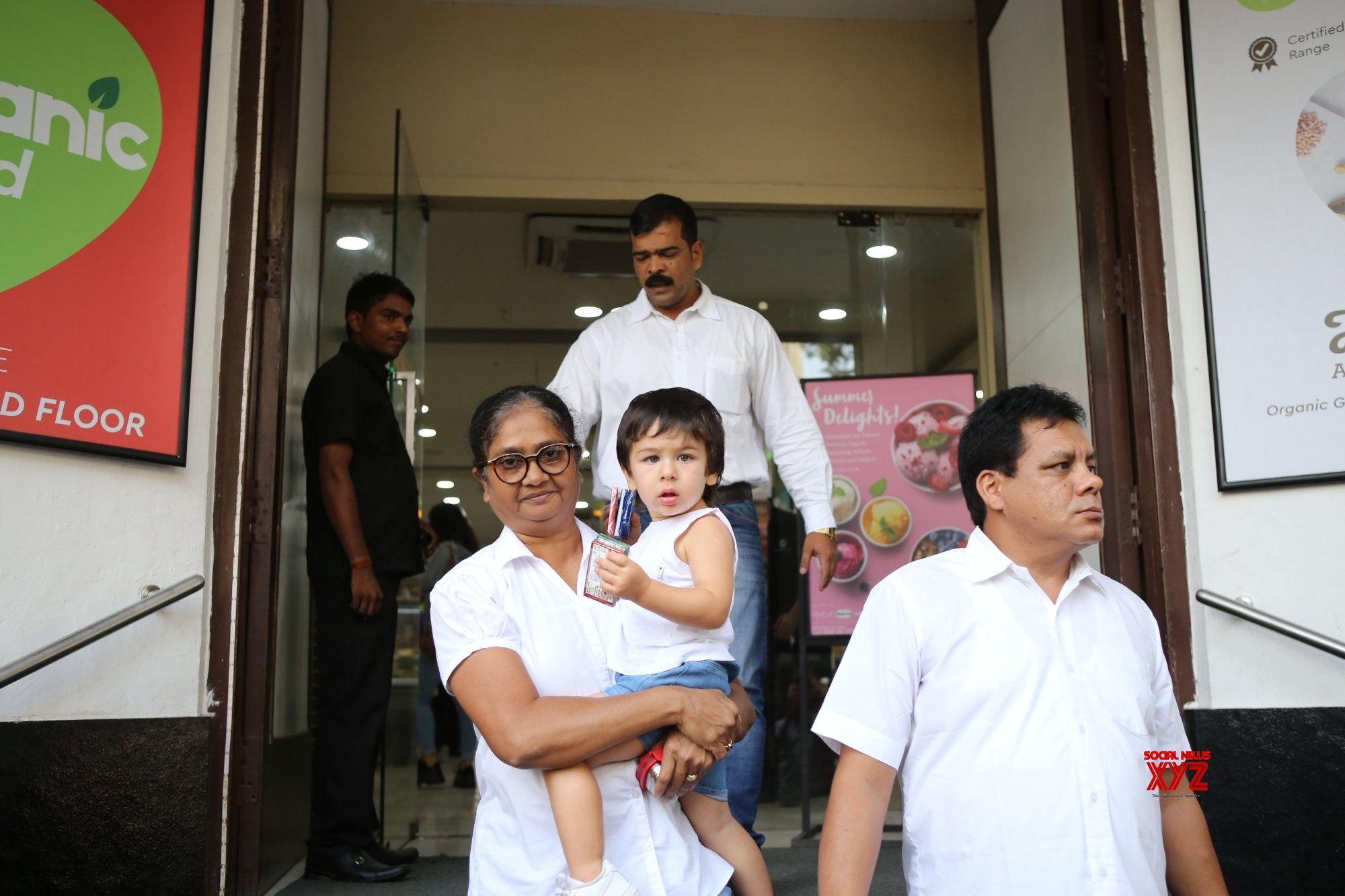 Mumbai: Taimur Ali Khan seen at Bandra #Gallery