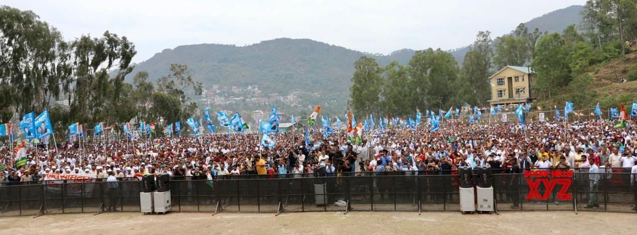 Solan: Rahul Gandhi at a public rally in Himachal Pradesh (Batch - 2) #Gallery