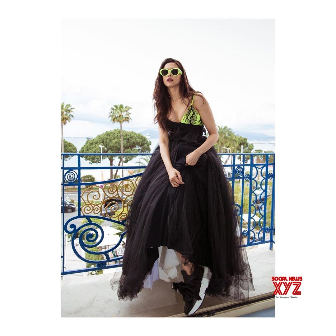 Actress Deepika Padukone Stills From Cannes 2019 Day 2