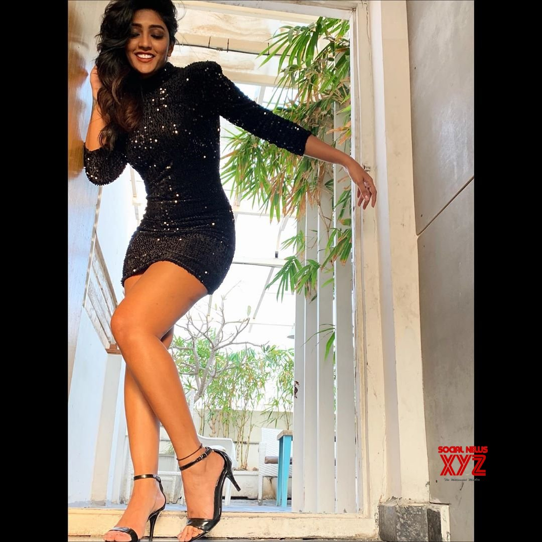 Actress Eesha Rebba Still In A Little Black Dress
