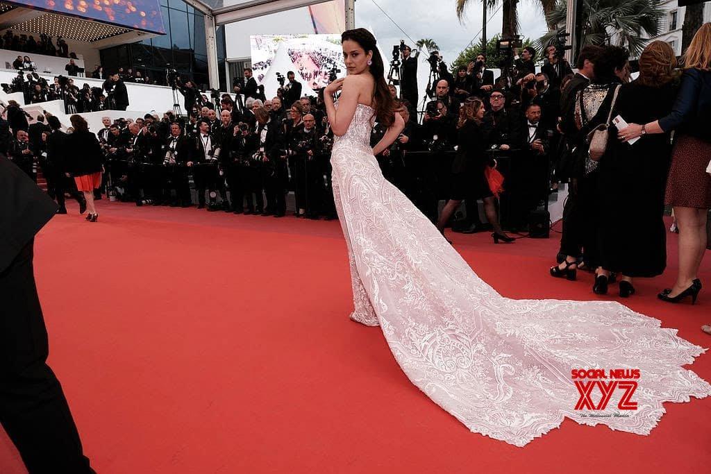 Actress Kangana Ranaut Still From Cannes 2019 Day 2