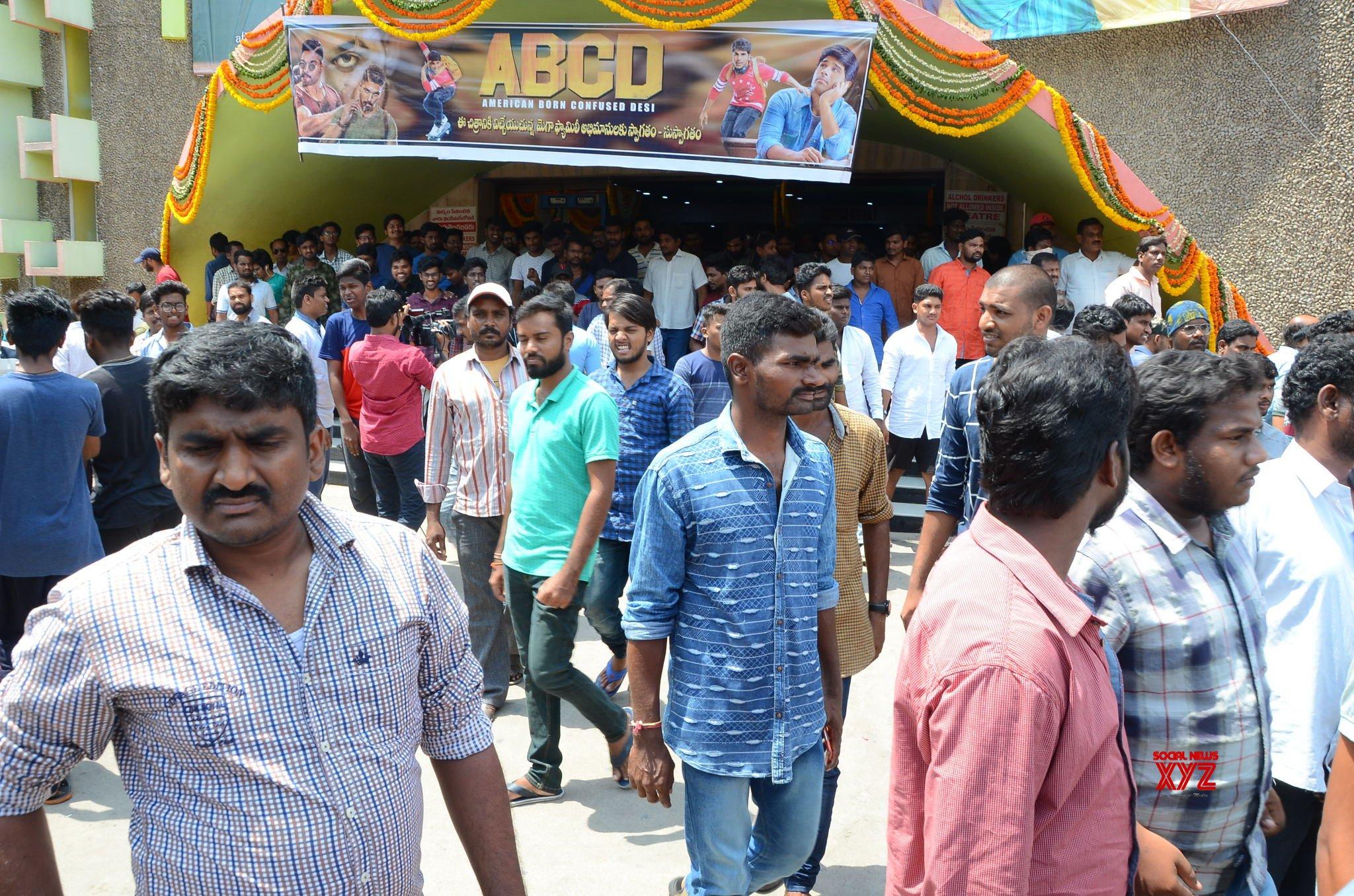 Allu Sirish Stills From Shanti Theater Visit With ABCD Movie Team