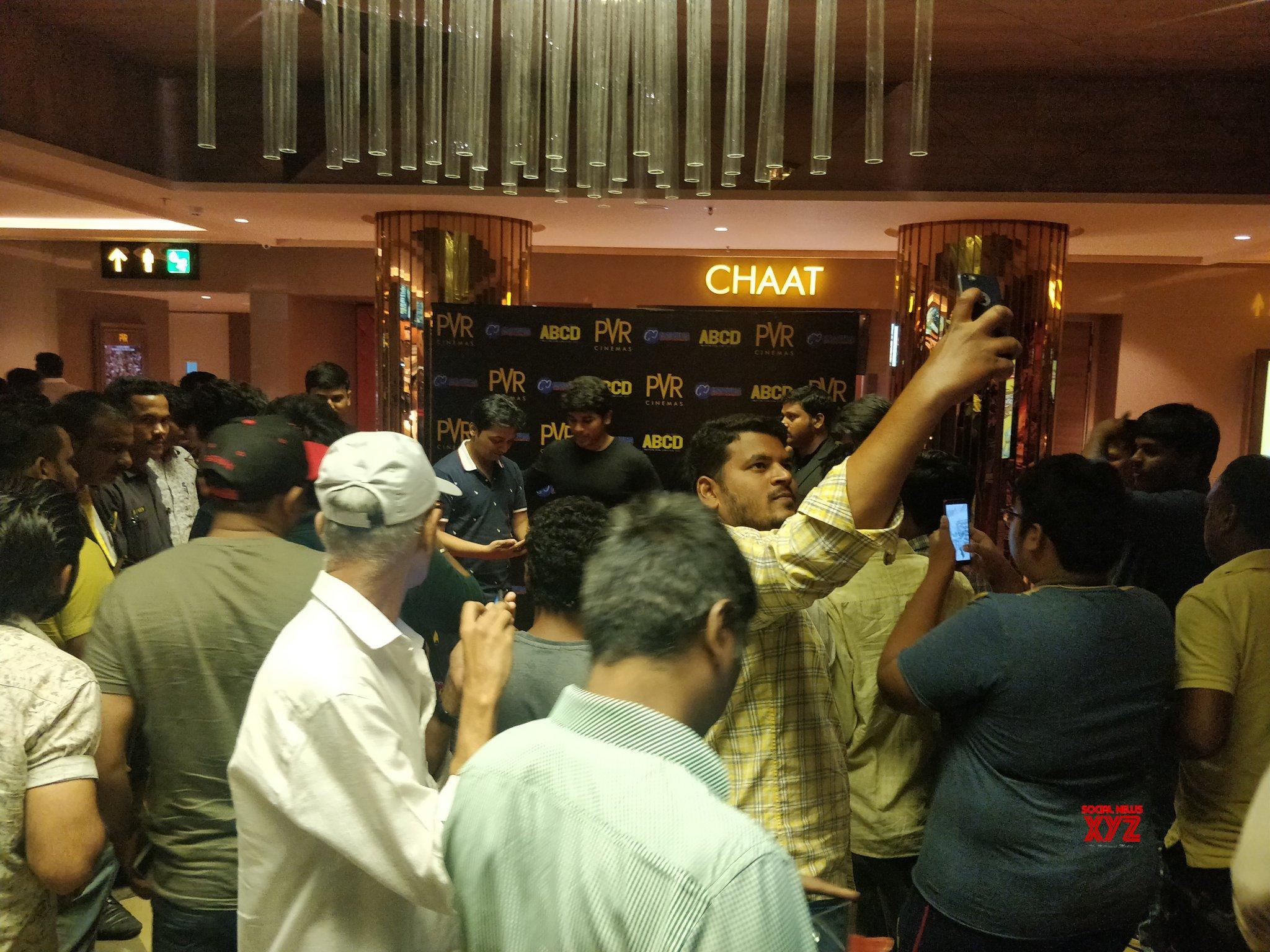 Allu Sirish Stills From PVR Cinemas, Hyderabad