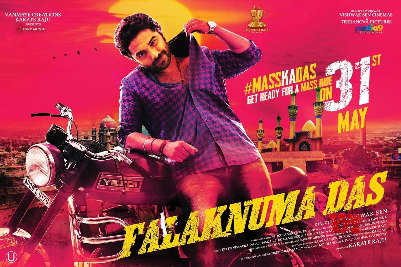 Falaknuma Das To Release Worldwide On 31st May - Posters