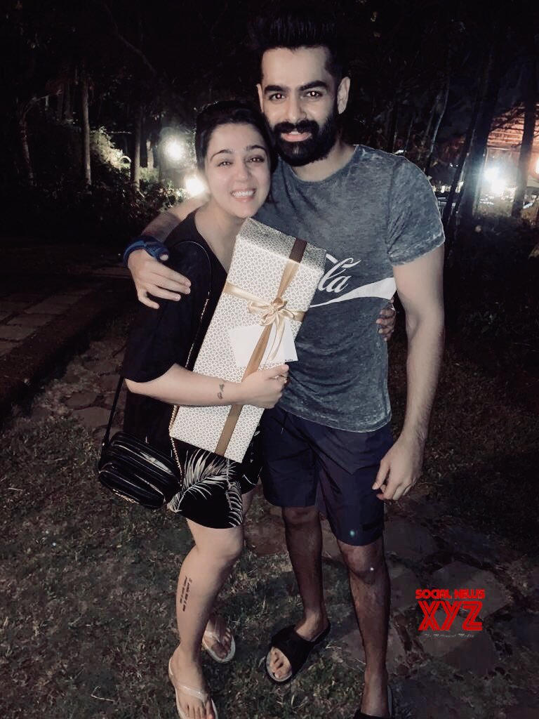 Ram Gifted Whiskey Bottle To Charmme