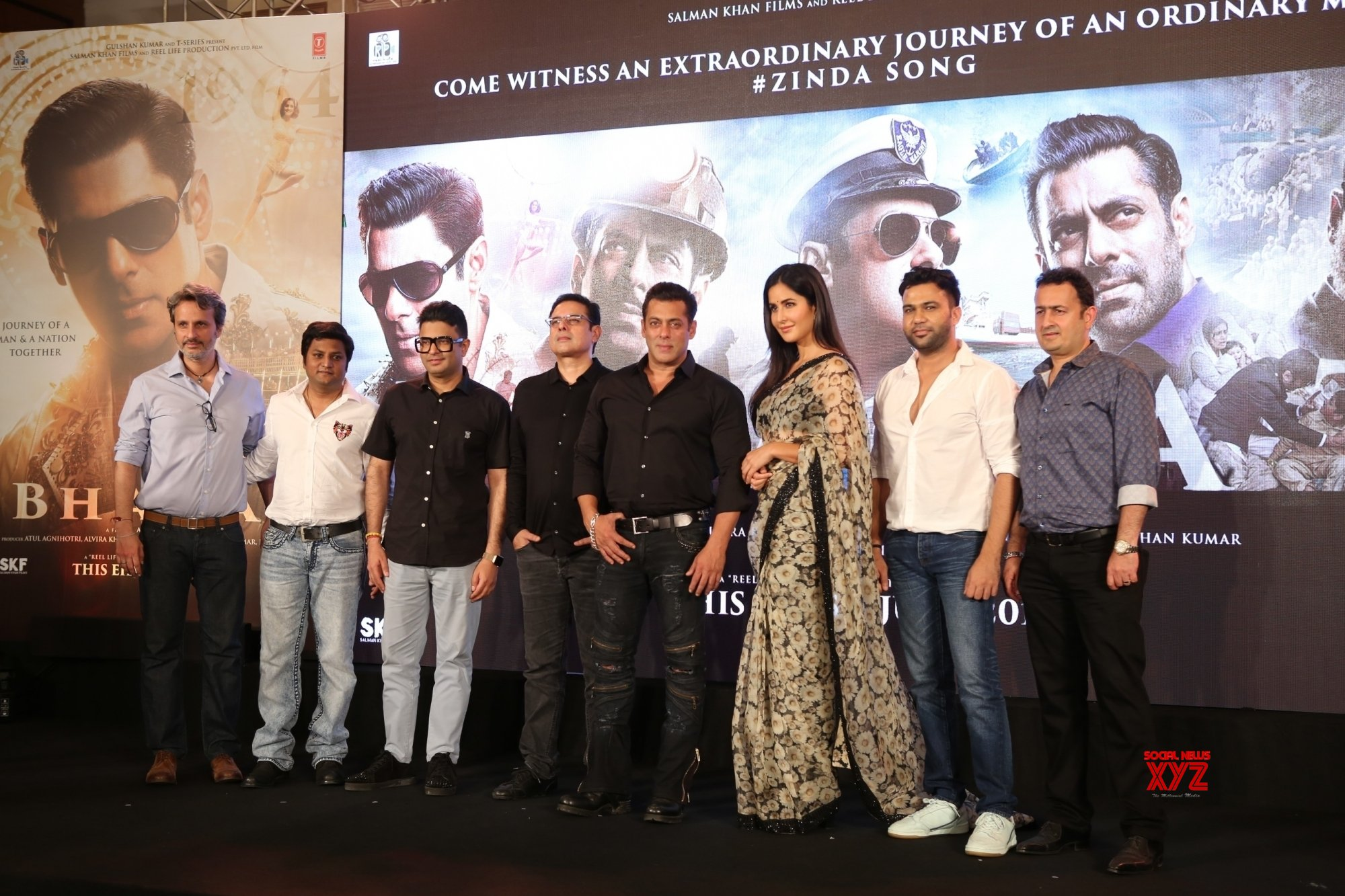 """Mumbai: Film """"Bharat"""" song launch #Gallery"""