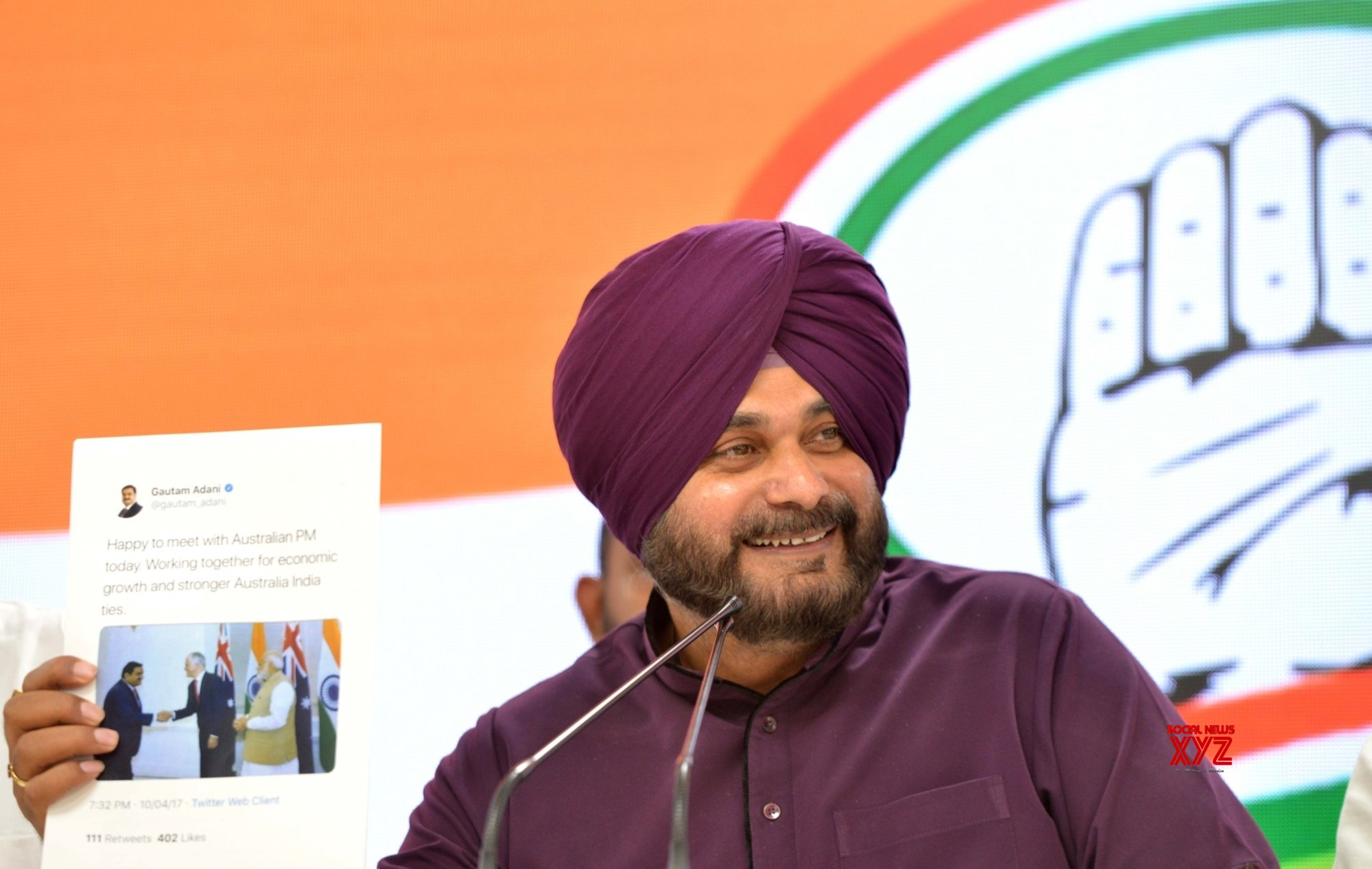 My wife never lies, says Sidhu; Punjab CM clarifies