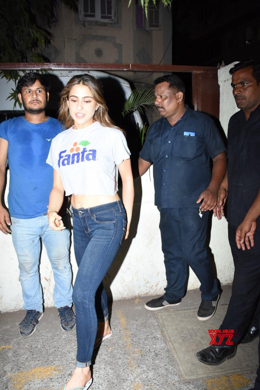 Mumbai: Sara Ali Khan seen at Bandra #Gallery