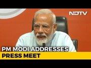 PM Modi Addresses First Ever Press Conference (Video)