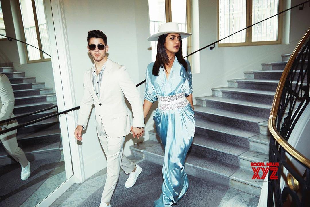 Nick Jonas And Priyanka Chopra Latest Stills From Cannes 2019
