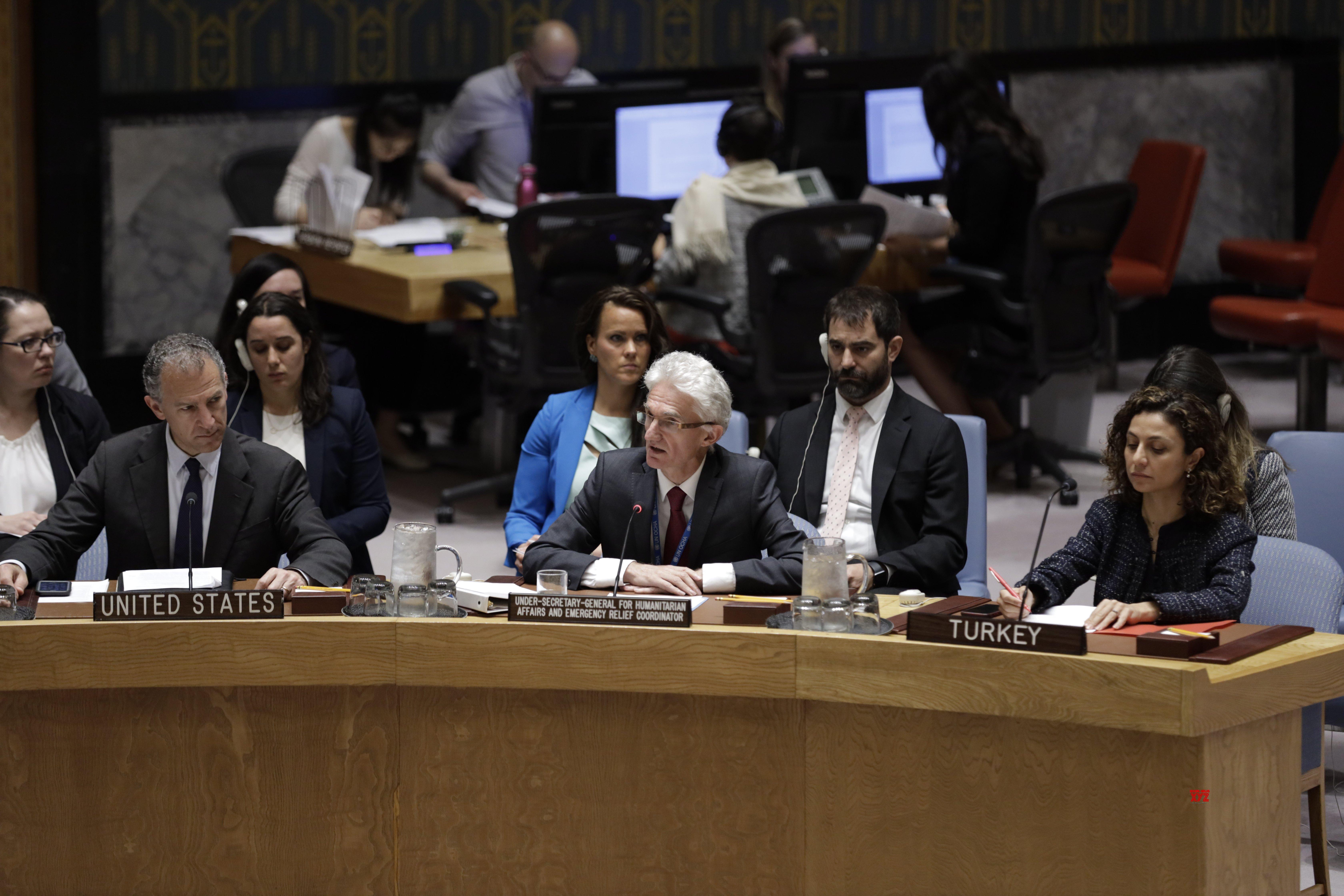 UN - SECURITY COUNCIL - MEETING - SYRIA #Gallery