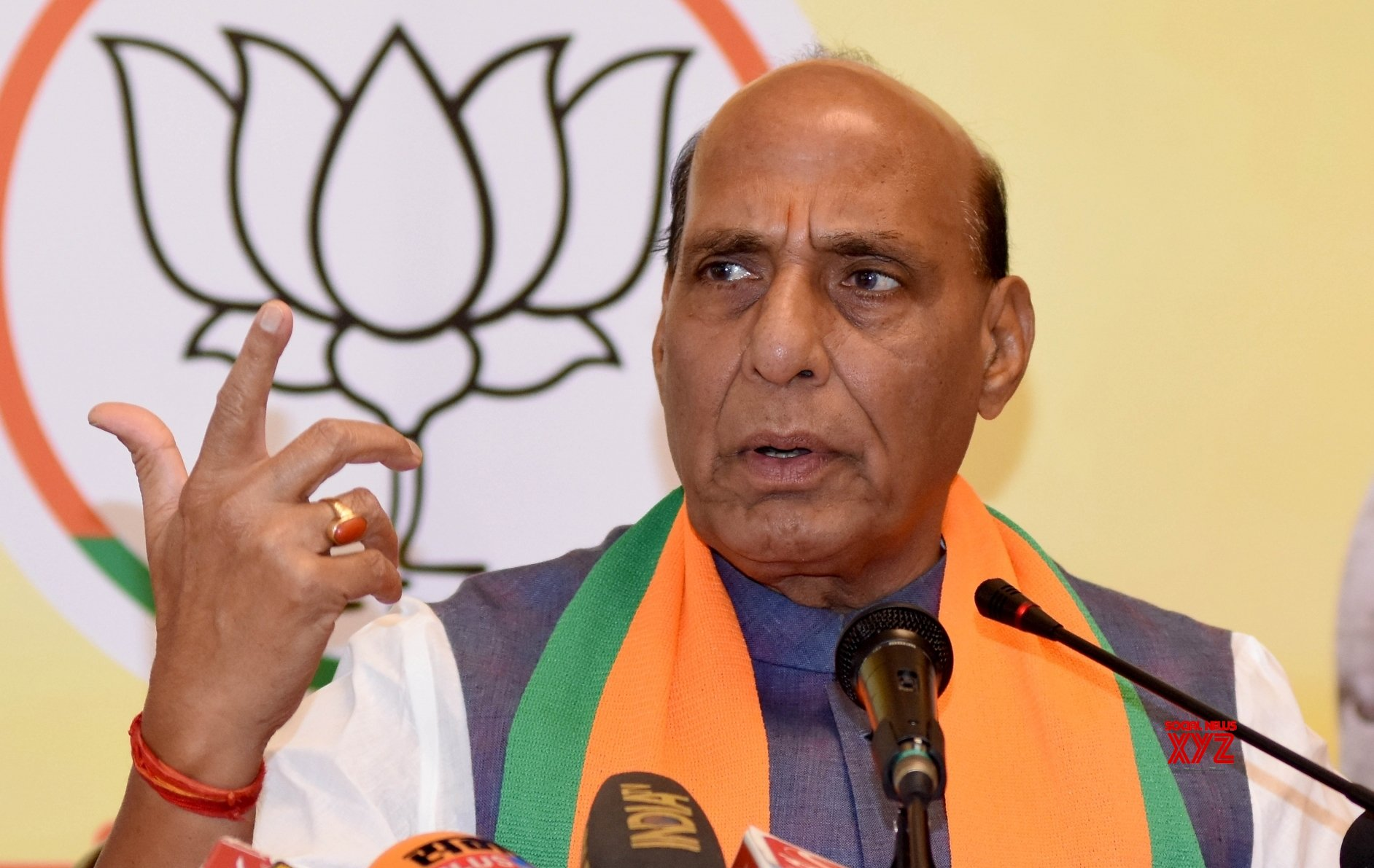 COVID-19: Rajnath urges armed forces, PSUs to gear up